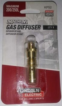 Gas Diffuser .035-.045 in (0.9-1.2 mm)